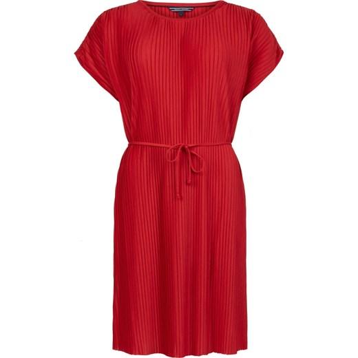 Sukienka  FIONA C-NK SHORT DRESS SS  Tommy Hilfiger AboutYou w Domodi dda91b50514