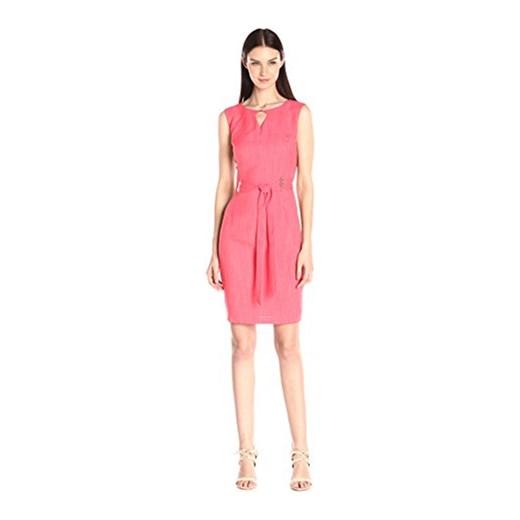 b3556ec198a151 Ellen Tracy damska sukienka, kolor: koralowy (Hot Coral) Ellen Tracy  sprawdź dostępne