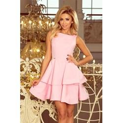 8dc68d309e Różowe sukienki rozkloszowane