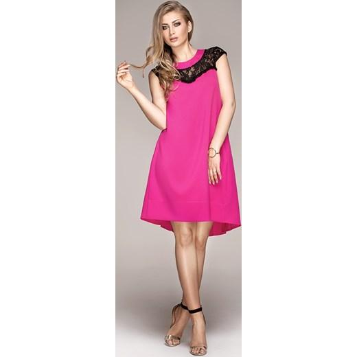 df79767015 Sukienka pliska z koronką hm-1 Jestesmodna.pl 36 (S) ...