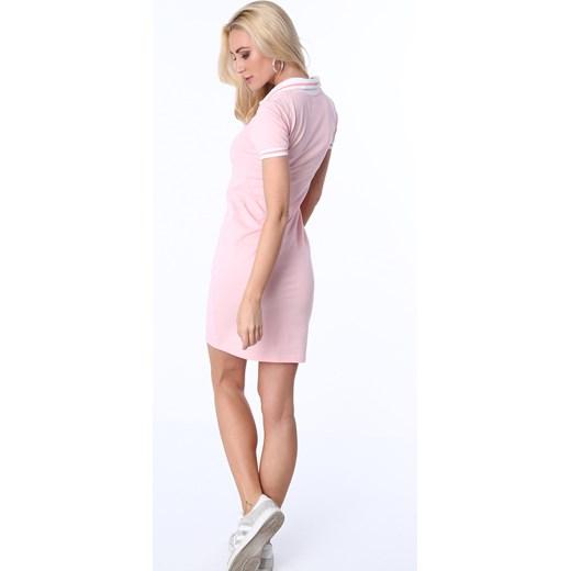 3573f0946f ... Sukienka polo jasnoróżowa 3810 fasardi M fasardi.com ...