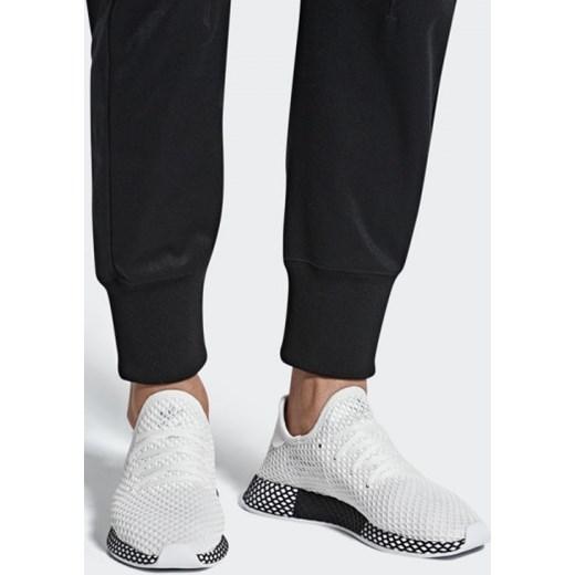 d85b41906 Buty męskie sneakersy adidas Originals Deerupt Runner B41767 - BIAŁY  sneakerstudio.pl w Domodi
