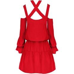ad8eec4b87 Jakie dobrać dodatki do czerwonej sukienki  - Trendy w modzie w Domodi