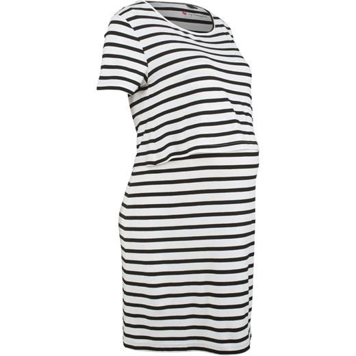 1609594c Sukienka shirtowa ciążowa i do karmienia BPC Collection bonprix