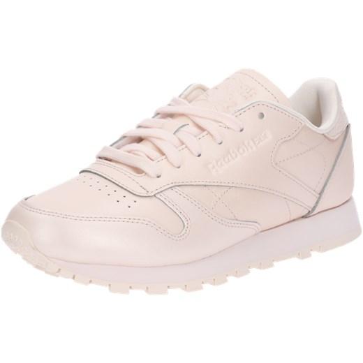 Sneakersy damskie Reebok Classic bez wzorów skórzane na platformie młodzieżowe