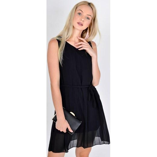 27b777334da2cd Plisowana sukienka z paskiem Zoio uniwersalny wyprzedaż zoio.pl ...