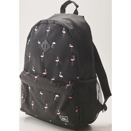 0b021a11d9c0d House - Plecak we flamingi - Czarny House One Size ...