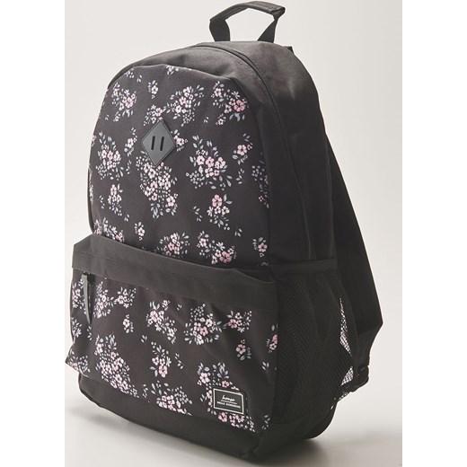 0e14617896ed0 House - Plecak w kwiaty - Czarny House One Size ...
