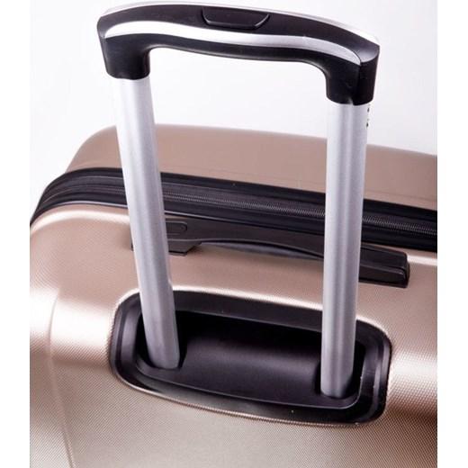 6a735cde8782b ... Średnia walizka podróżna na kółkach SOLIER STL402 M ABS ciemnozielona  Solier Skorzana.com ...