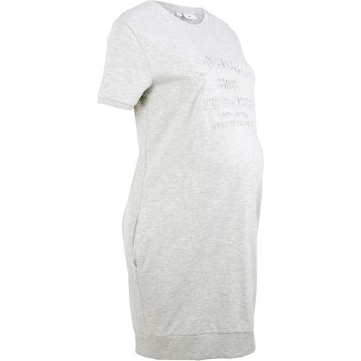 43b2d2e7 Sukienka dresowa ciążowa, krótki rękaw BPC Collection bonprix