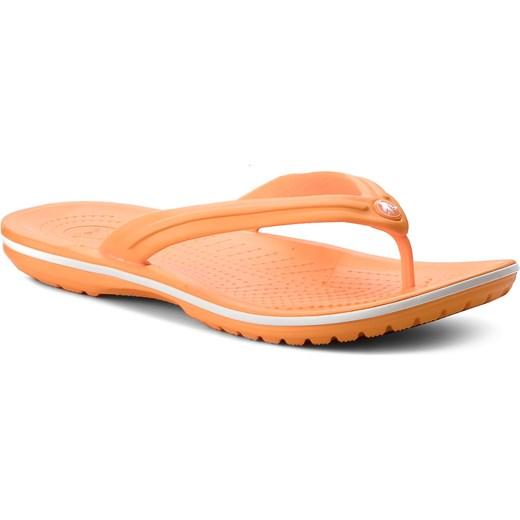 929ed4e1 Japonki CROCS - Crocband Flip 11033 Blazing Orange/White Crocs 39.5 eobuwie. pl