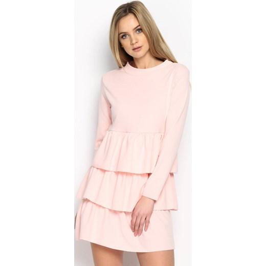 2527dfa2d0 Jasnoróżowa Sukienka Modesty And Chic Multu uniwersalny promocja Multu.pl  ...