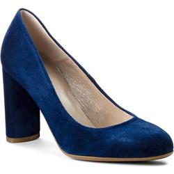 e0d8cad937e4f Granatowe buty damskie gino rossi w wyprzedaży, lato 2019 w Domodi