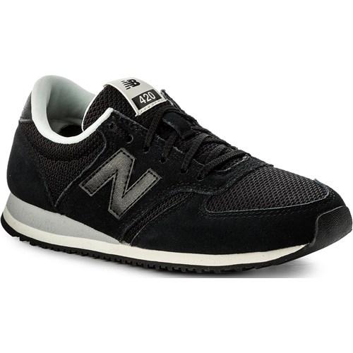 outlet na sprzedaż najlepszy dobra jakość Sneakersy NEW BALANCE - WL420NBC Czarny promocyjna cena eobuwie.pl