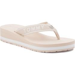 70d42ac84 Beżowe buty damskie tommy hilfiger, lato 2019 w Domodi