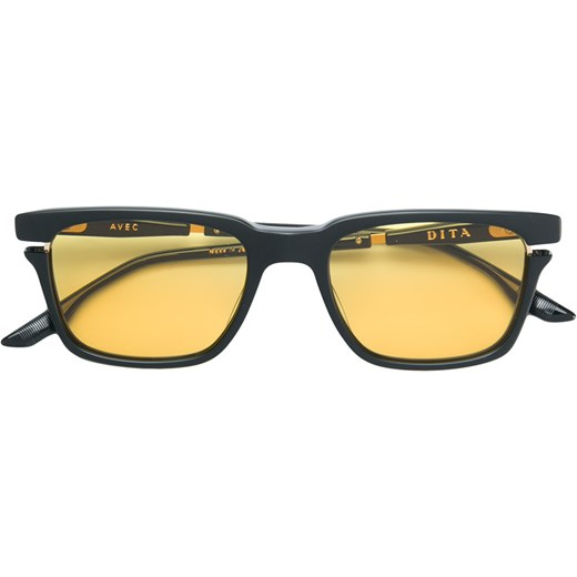 66caadfea10 Dita Eyewear Avec sunglasses - Yellow   Orange Dita Eyewear 52 Farfetch ...