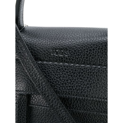 d63c20a790 ... Tod's Wave mini backpack - Black Tod`s One Size Farfetch ...