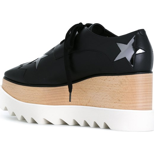 d9e1e2c24aa ... Stella McCartney Star Elyse platform shoes - Black Stella Mccartney  37.5 Farfetch