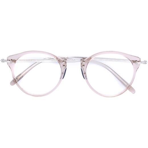 7a8d2489cc2 Oliver Peoples OP-505 round frame glasses - Nude   Neutrals Oliver Peoples  47 Farfetch ...