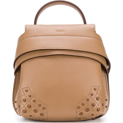 16d2d7180a Tod's Wave mini backpack - Brown Tod`s One Size Farfetch ...