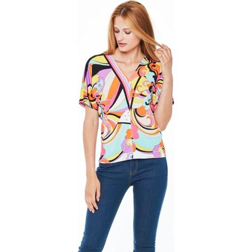 3f36e5153b Wielokolorowa bluzka POTIS   VERSO RIMAS L ame De Femme Eye For Fashion w  Domodi