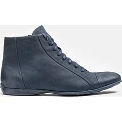 ef6ee776 Granatowe buty męskie kazar, wyprzedaż w Domodi