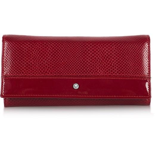 c26a0301d0d97 Swarovski portfel czerwony Wojewodzic Royal Point w Domodi