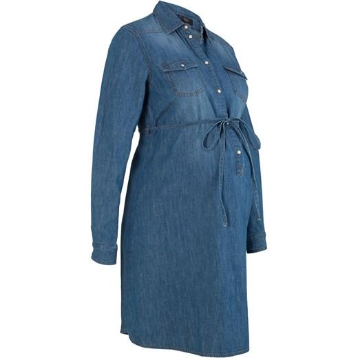 dd140006 Sukienka bawełniana dla ciężarnych i karmiących piersią BPC Collection  bonprix