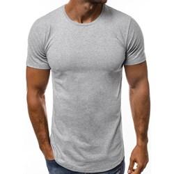 7dc39113c37b Szare t-shirt basic zara