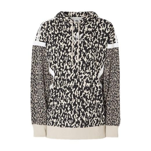 Bluza z kapturem wzorem w panterkę Adidas Originals szary Fashion ID GmbH & Co. KG