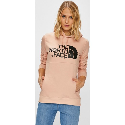 kup sprzedaż rozsądna cena na stopach o Różowa bluza damska The North Face