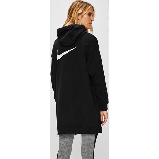 Damska długa bluza z kapturem Nike AO2273 100 S