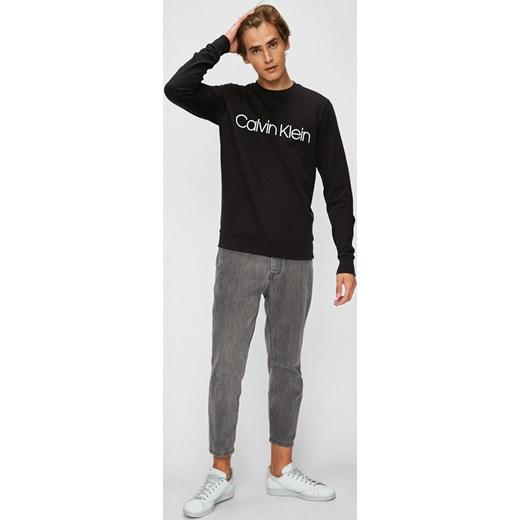 2fd4dbb47376d Bluza męska Calvin Klein młodzieżowa z bawełny w Domodi
