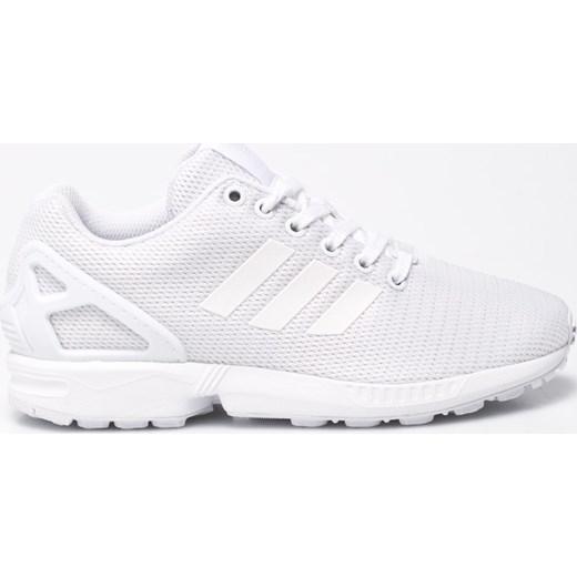 08b1a47ff2cd4 Buty sportowe damskie Adidas Originals dla biegaczy zx flux na koturnie bez  wzorów wiązane ...