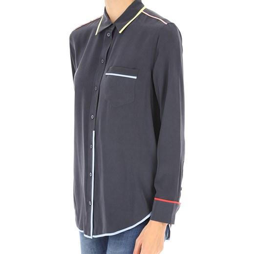 pas cher pour réduction 4af23 ac70d Equipment Femme Koszula dla Kobiet, Eclipse Blue, Jedwab, 2017, 40 42 44  RAFFAELLO NETWORK