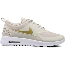 best website c41e3 10100 Beżowe buty sportowe damskie Nike do biegania air max thea płaskie
