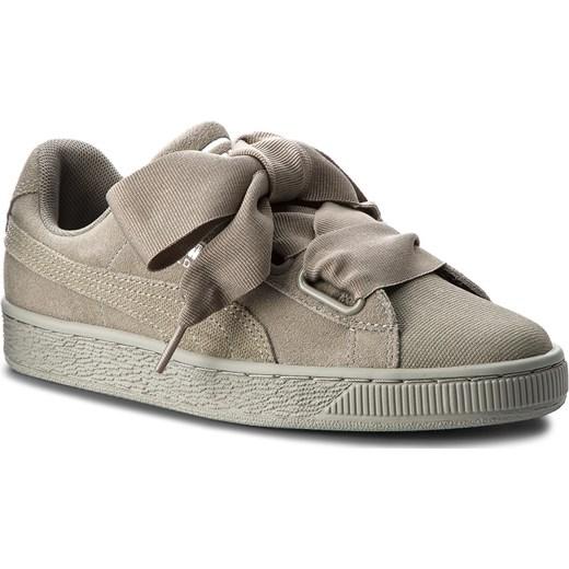 Sneakersy PUMA Suede Heart Pebble Wn's 365210 02 Rock