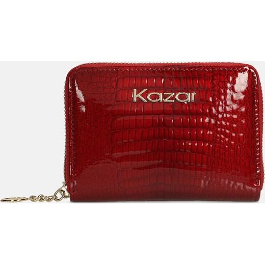 8dfb7a4cbac2a Czerwony portfel damski Kazar kazar.com w Domodi