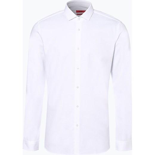 b7155ab60320d HUGO - Koszula męska – Erondo, czarny vangraaf w Domodi
