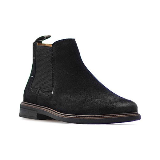 1b965f85dced9 Sztyblety Salamander 31-56702-21 Czarne nubuk Salamander Arturo-obuwie ...