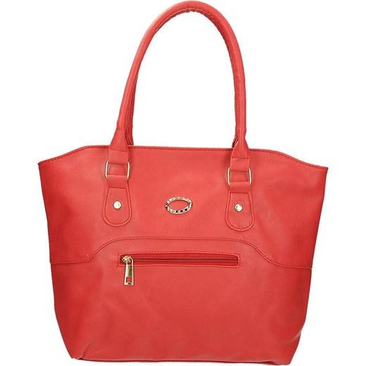 b632f27e1e6a0 Klasyczna torebka damska w kolorze czerwonym DANBLINI 61164 Danblini  Fashion Di Zdhou Xiaobin fokus.pl