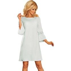 335298c032 Miętowe sukienki wizytowe midi