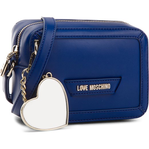 0dd5ecfb04509 Torebka LOVE MOSCHINO - JC4078PP15LI0750 Blu Love Moschino eobuwie.pl
