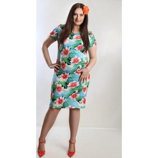 46576db4f70a27 Sukienka Paradise 42 wyprzedaż Oscar Fashion ...