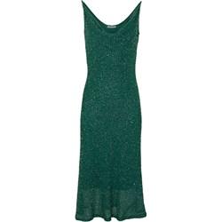 55dd0838ce Sukienki wieczorowe dopasowane na ramiączkach