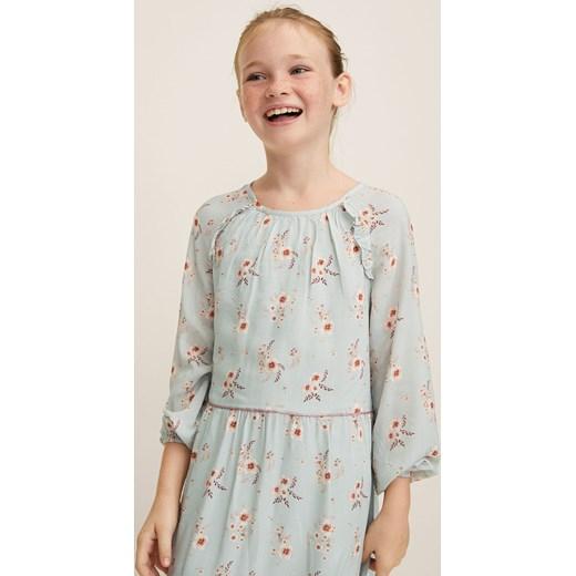 b68dbdbf19 Mango Kids - Sukienka dziecięca Poem 110-164 cm Mango Kids 152 ANSWEAR.com  ...