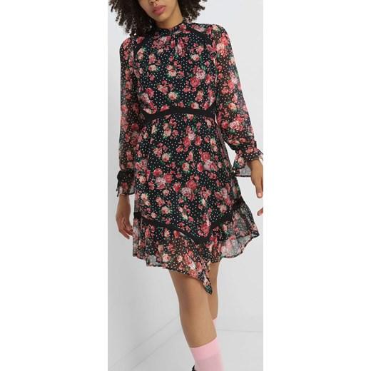 e759ab39b7 Asymetryczna sukienka w kwiaty ORSAY orsay.com w Domodi