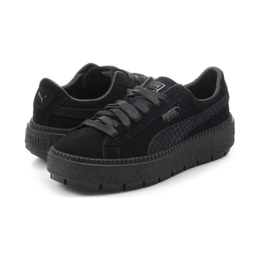 huge selection of ff364 1db21 Puma Damskie Suede Platform Trace Animal Office Shoes Polska