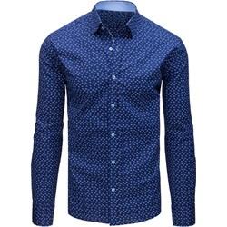 f8f64a24be3d7 Granatowe koszule męskie