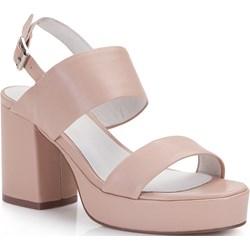 3c9e7f6395f5f Różowe sandały damskie wittchen, wiosna 2019 w Domodi